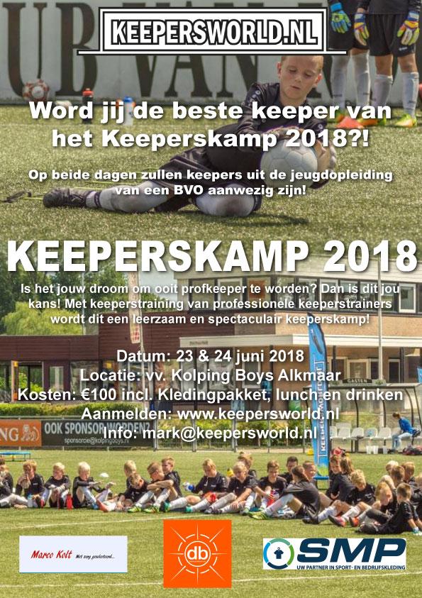 Keeperskamp Keepersworld.nl 2018