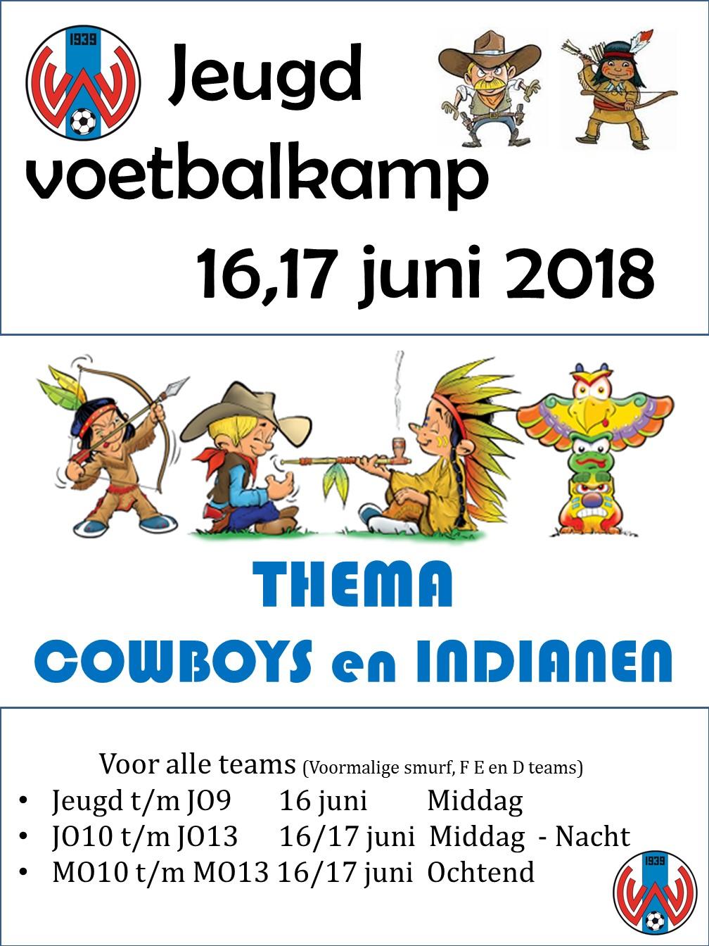 Jeugdvoetbalkamp 16 & 17 juni 2018