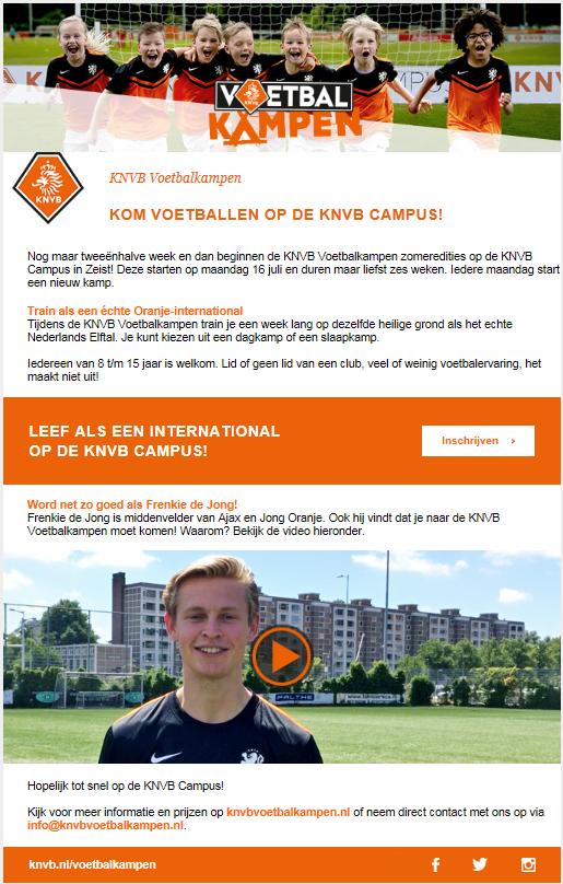 KNVB CAMPUS ( Voetbal kampen)