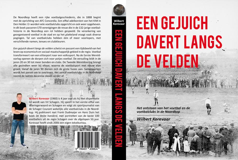 Boek over ontstaan voetbal en voetbalclubs in de Noordkop