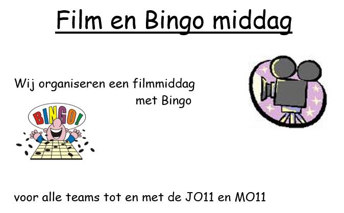 Film en Bingo middag